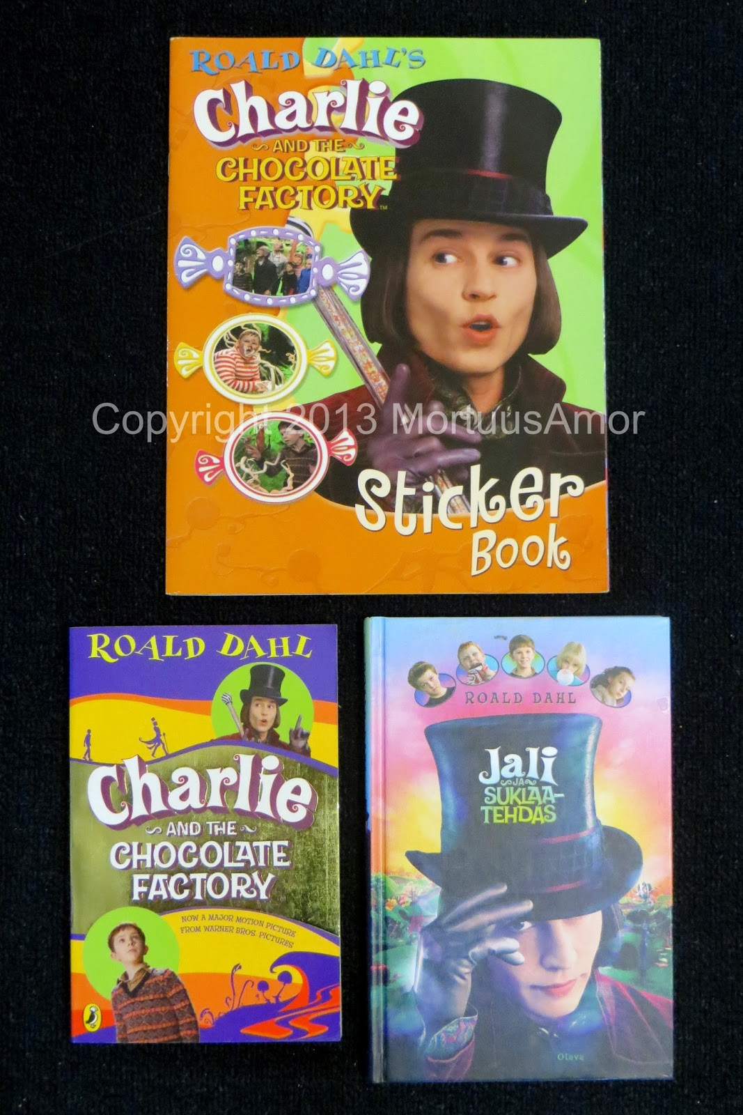 Charlie And The Chocolate Factory Trading Cards