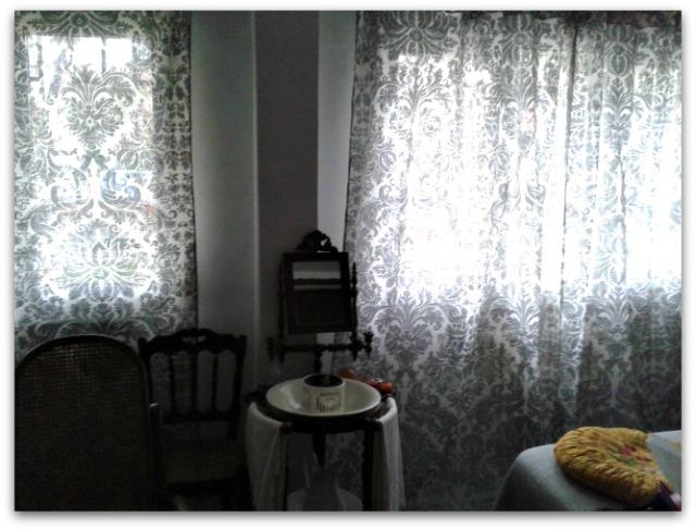En casa de oly estrenando cortinas vintage for Cortinas vintage