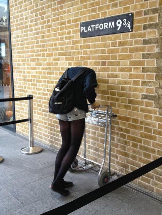 King's Cross Station, Harry Potter, Hoghwart, J.K. Rowling, Platform