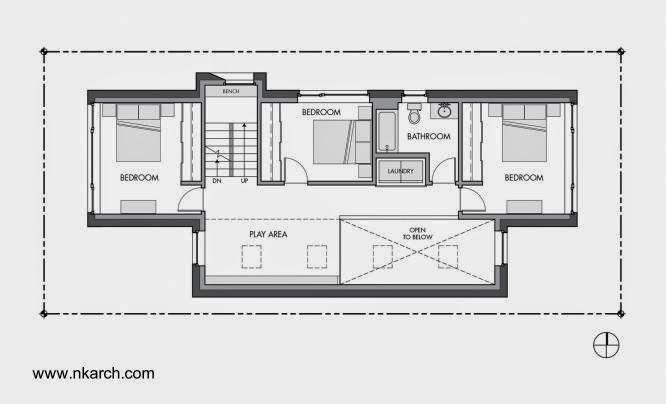 Casas estrechas y alargadas excellent planos de casa for Casas alargadas