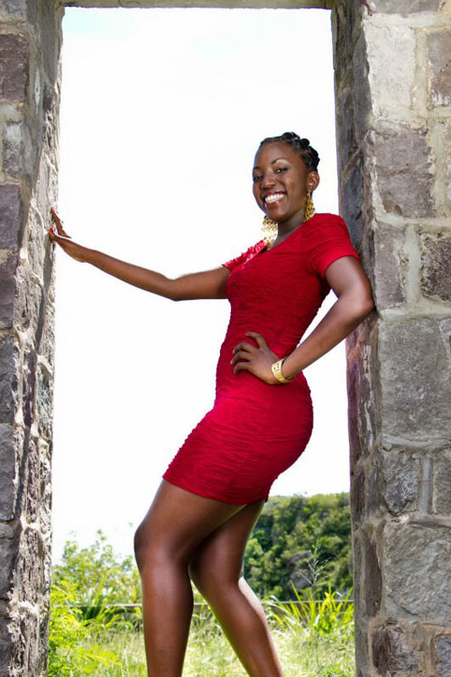 Markysa Krisan Javen O'Loughlin,Miss World Saint Kitts and Nevis 2012