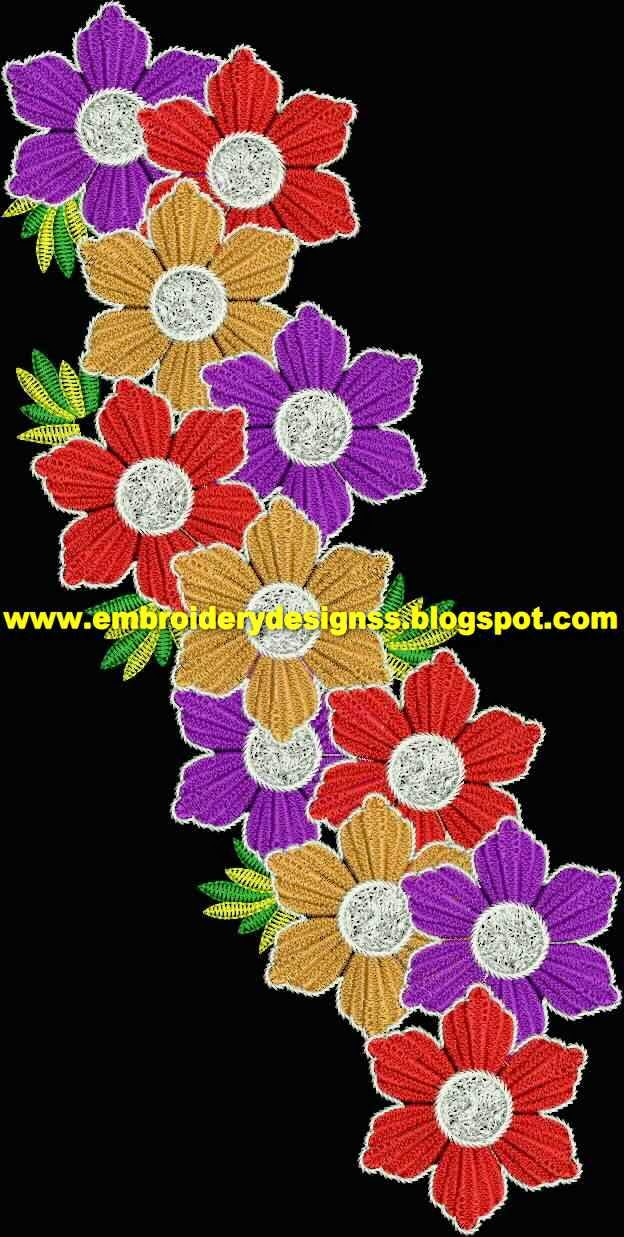 Embroidery Designs April 2015