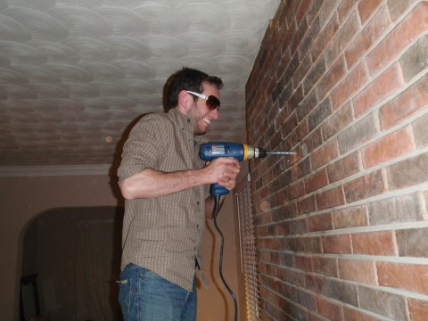 Mounting Tv Over Brick Fireplace Attaneorg