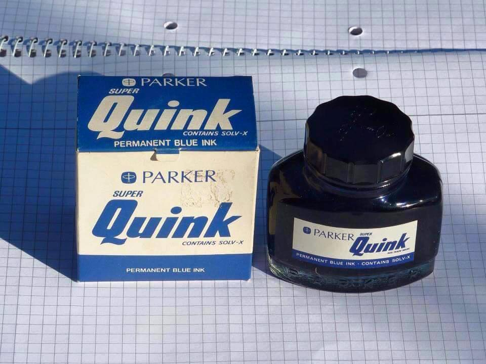 Remember Quink Ink>
