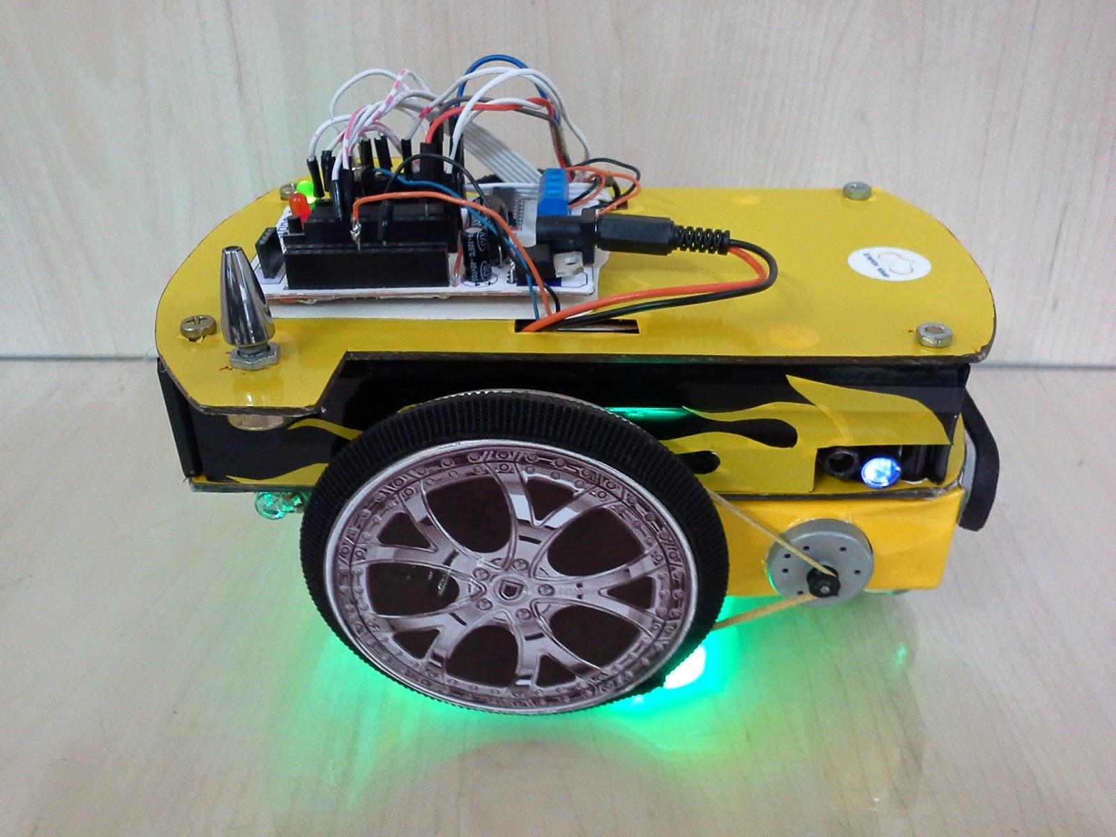 Construindo Um Robô Autônomo Com Material Reciclado