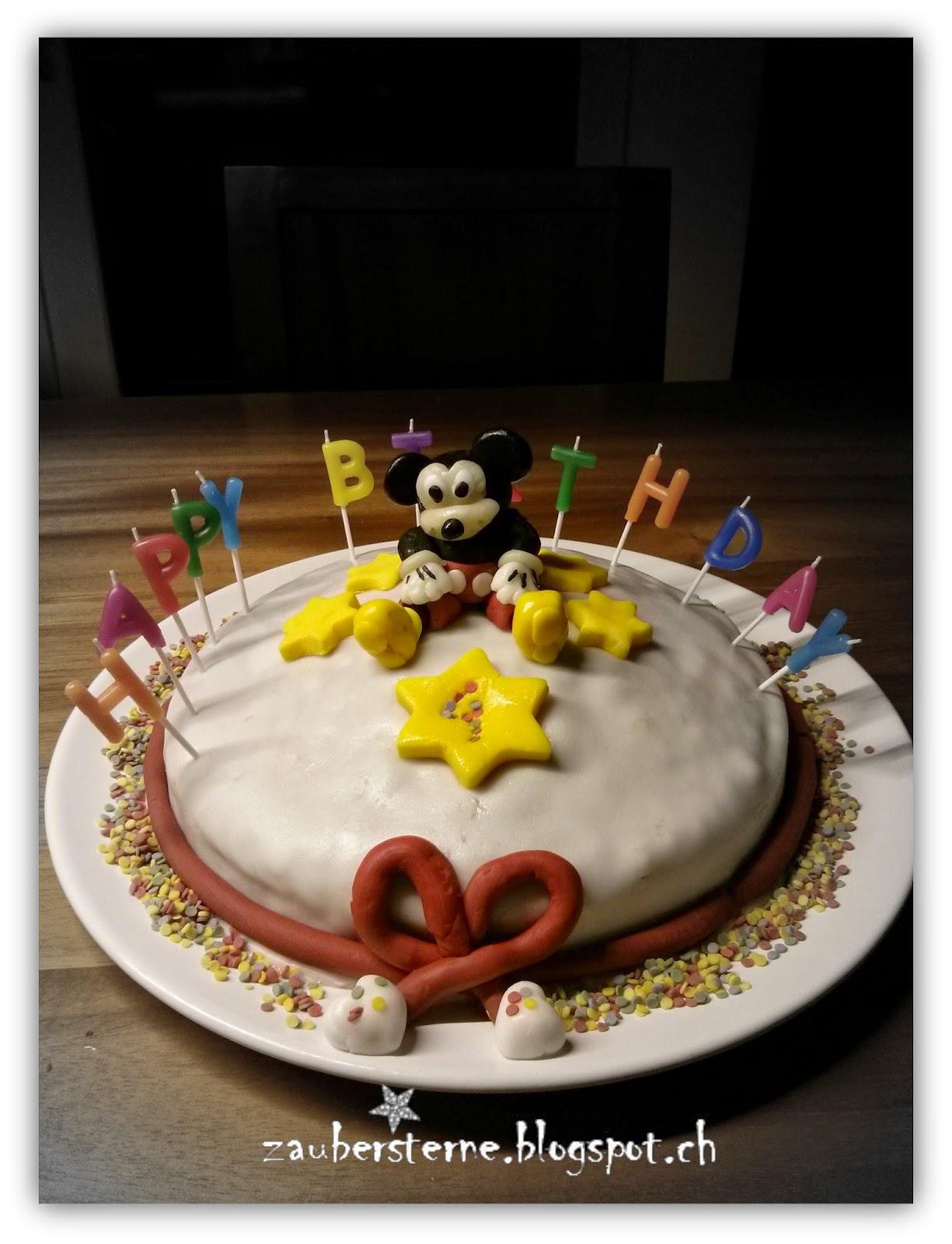 Disney Torte, Kindertorte