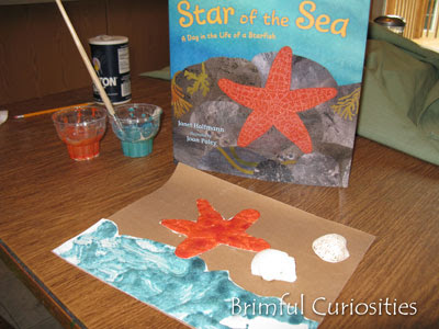 Craft Ideas on Puffy Paint Star Fish Craft From Brimful Curiosities