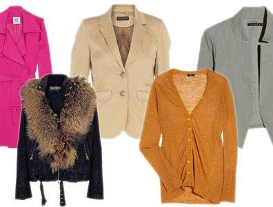 Tipos de casacos