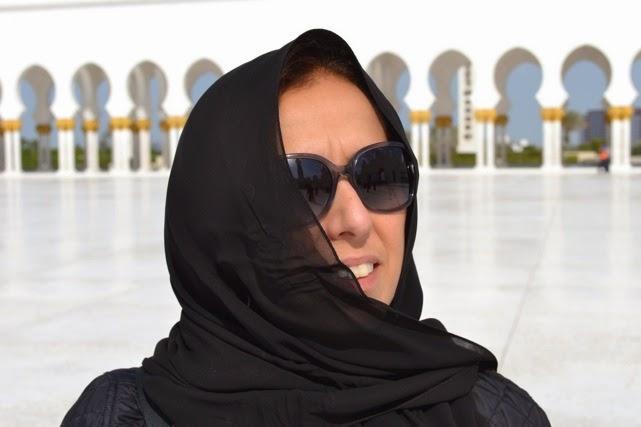 Uma brasileira em Abu Dhabi e mundo afora.