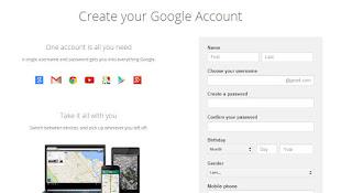 Cara Membuat Email di Gmail gambar 3