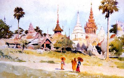 Buddhist Shrines long time ago