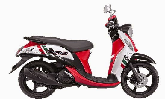 New Yamaha Fino FI Sporty Exciting Red