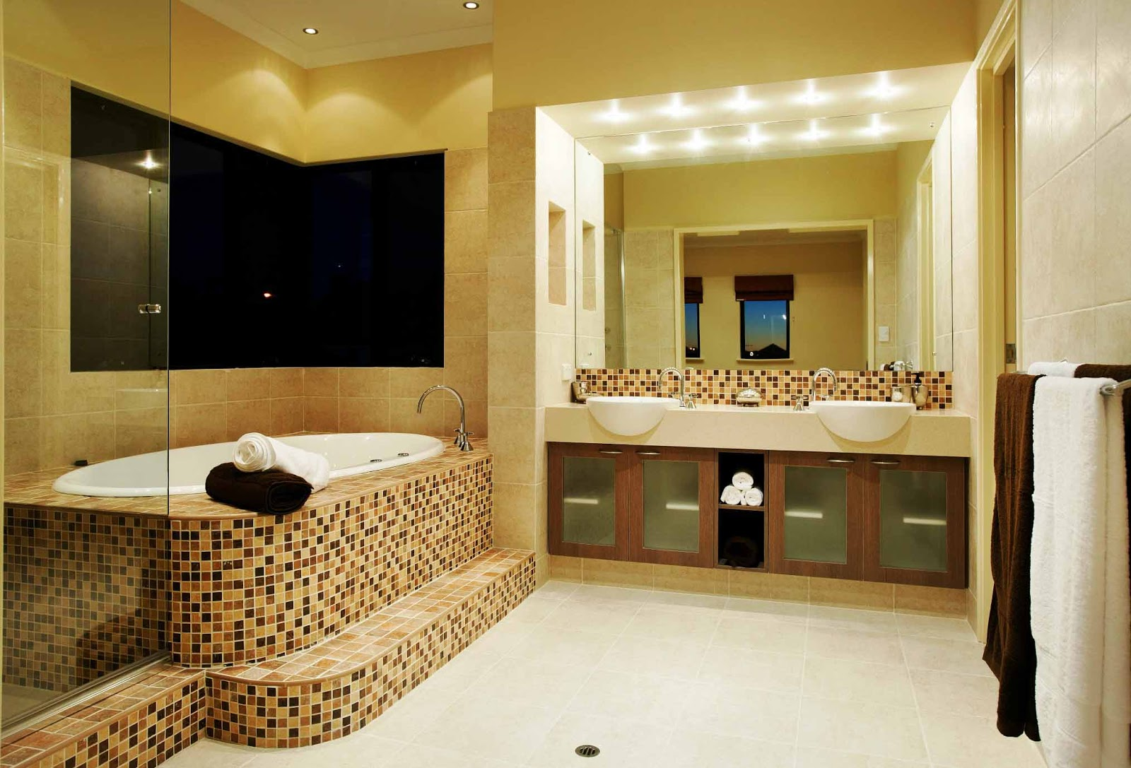 Bathroom Interior Design New Model Home Models Model Desain Interior
