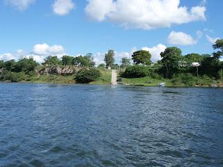 نهر بارنا في امريكا الجنوبية