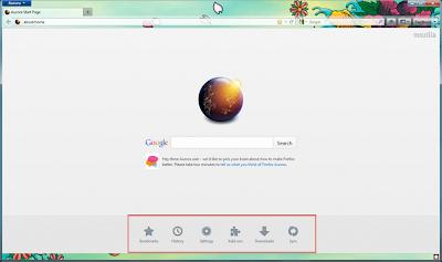 Tampilan Preview Firefox 15 (Aurora)