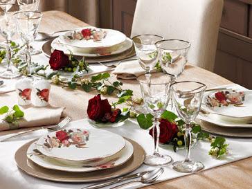 Çeyiz Kafası | Bernardo Rose Garden Yemek Takımı