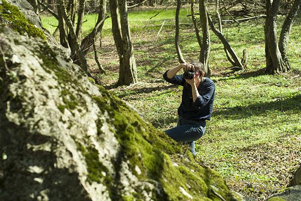 Choisir un angle de vue qui donne une bonne composition photographique