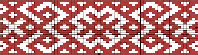 Схемы браслетов - станочное ткачество 5