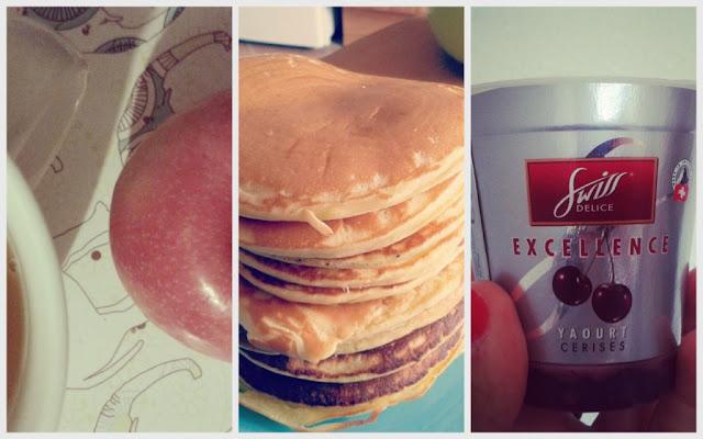 thé - pancakes et swiss delice