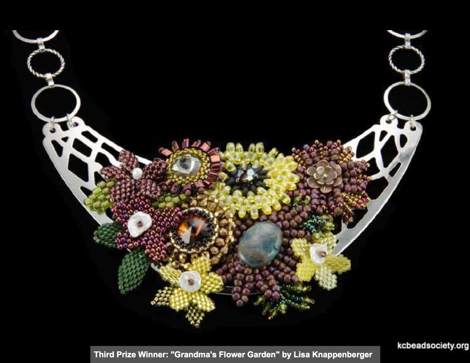 """My First """"Challenge"""" with KC Bead Society"""