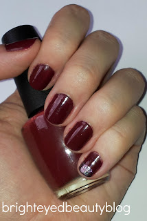 Swatch of Skyfall Nail Polish by OPI.