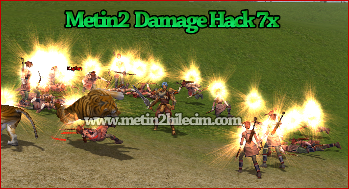 Metin2 Damage Hack 7x Hilesi