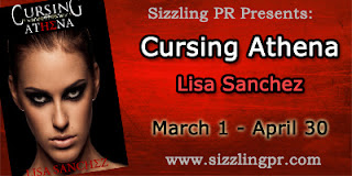 {Guest Post+G!veaway} Cursing Athena by Lisa Sanchez