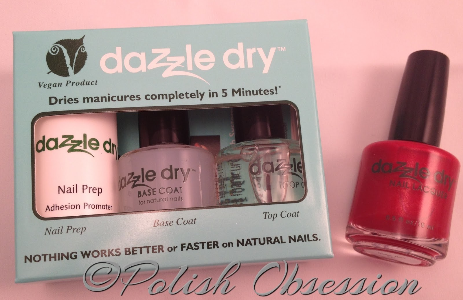 Dazzle Dry Review | Polish Obsession