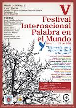V FESTIVAL INTERNACIONAL PALABRA EN EL MUNDO