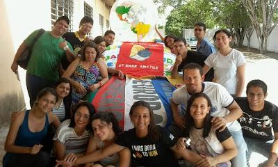 Juventude Missionária participa de Retiro com Crismandos em Arapiraca/AL