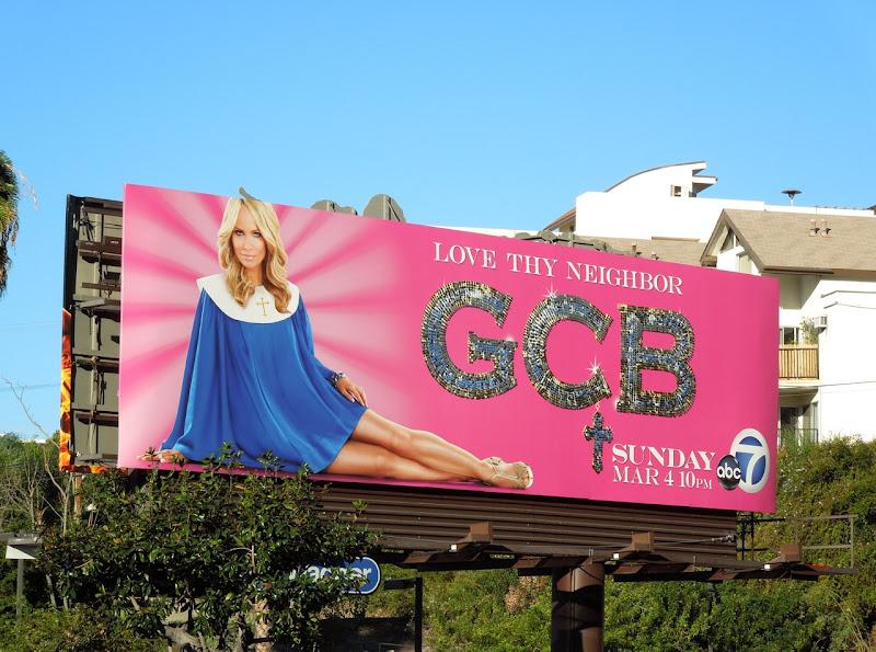 GCB series premiere billboard
