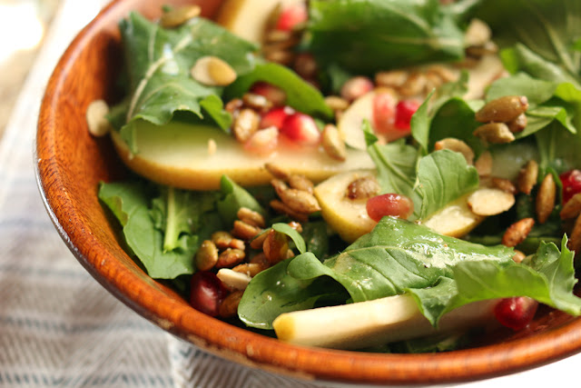 Pear and Pomegranate Salad 2