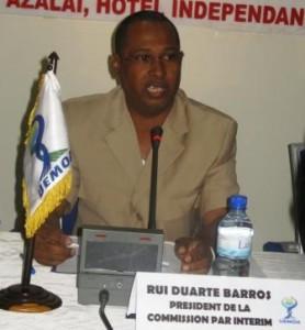 Guiné-Bissau: RUI DUARTE DE BARROS SERÁ O PRÓXIMO PRIMEIRO-MINISTRO