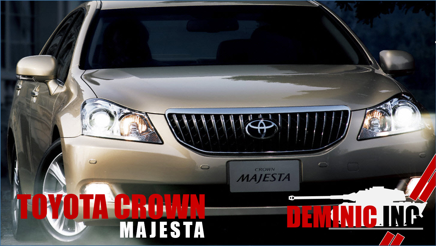 DEMINIC AutoIMPORT  TOYOTA CROWN MAJESTA FOR SALE IN SINGAPORE