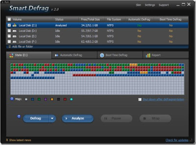 Smart Defrag 2 besplatni programi Windows download