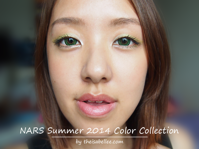 NARS Summer 2014 Color Collection Review