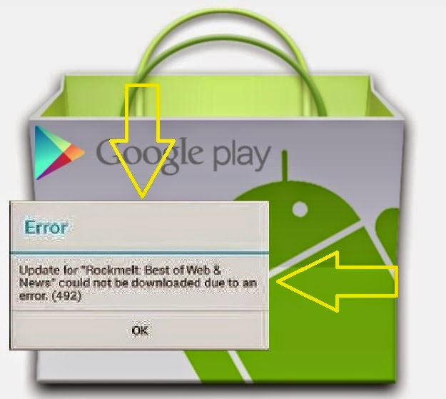 Cara / langkah-langkah mengatasi gagal download / error di Play Store