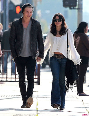 Vanessa Hudgens and Austin Butler Walking Together