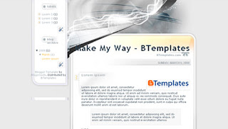Make My Way Blogger Template
