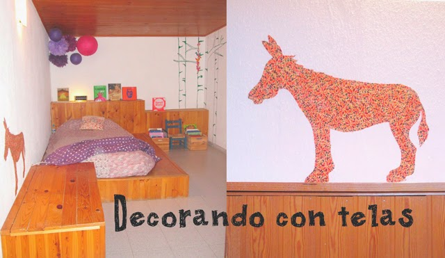 Diy vinilo de tela para pared de gotel - Pared gotele ...