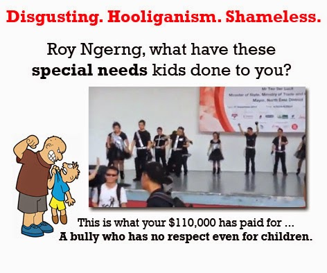 ngerng heckles special needs kids at hong lim park