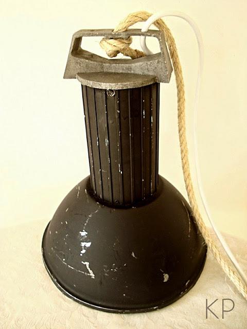 Comprar lámpara industrial antigua estilo vintage