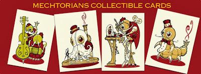 The Mechtorians Collectible Card Set #1 Header Card Artwork by Doktor A