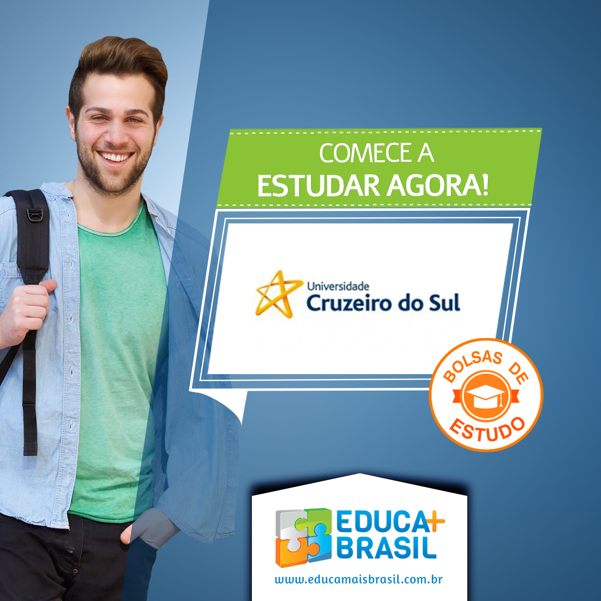 Bolsas de Estudo - Cruzeiro do Sul