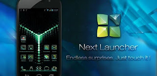 Glow Next Launcher 3D Theme APK v1. 0