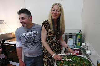 Ballan Butcher Xmas barbeque Lawrence Winder