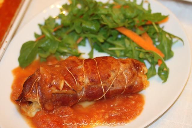 Simply Lecker: Chicken Involtini with Prosciutto and Basil