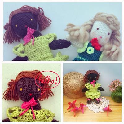 wool dools poupées en laine