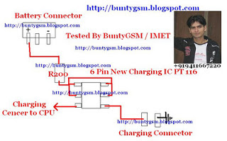 China Mobiles Charging IC PT116 Repair Solutions