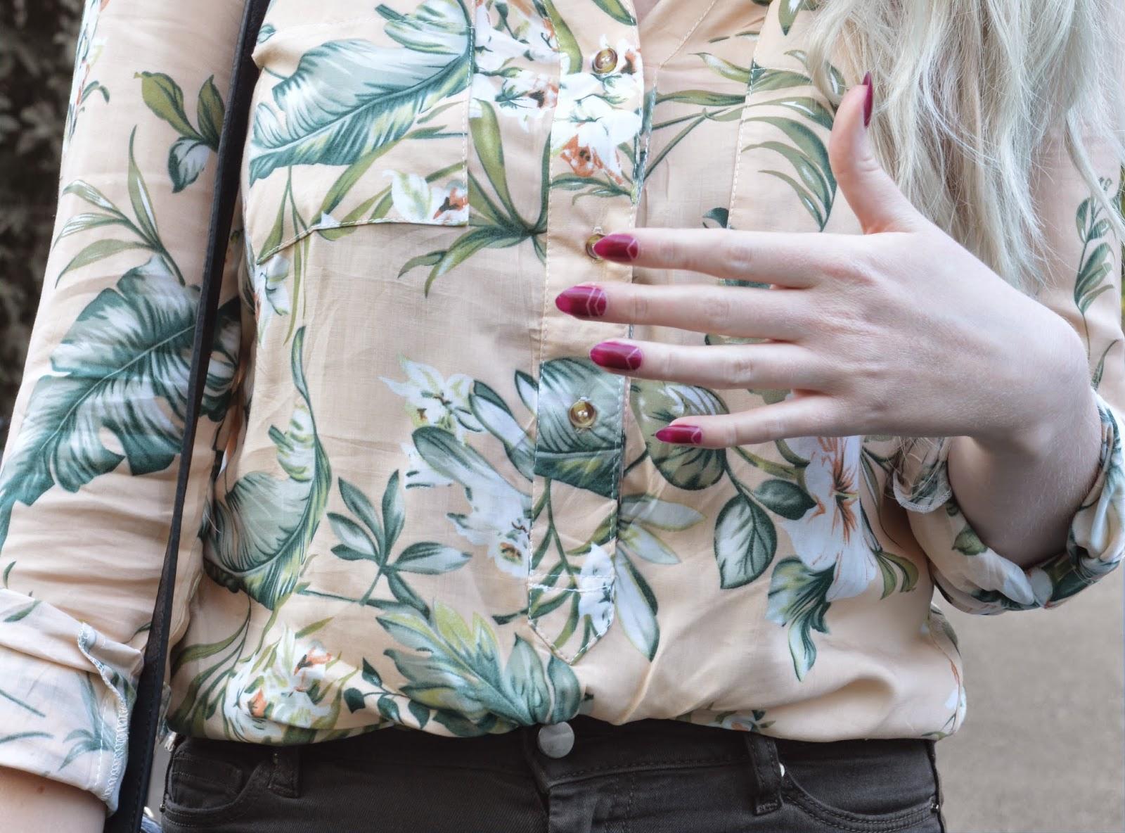 Sammi Jackson - Floral Blouse